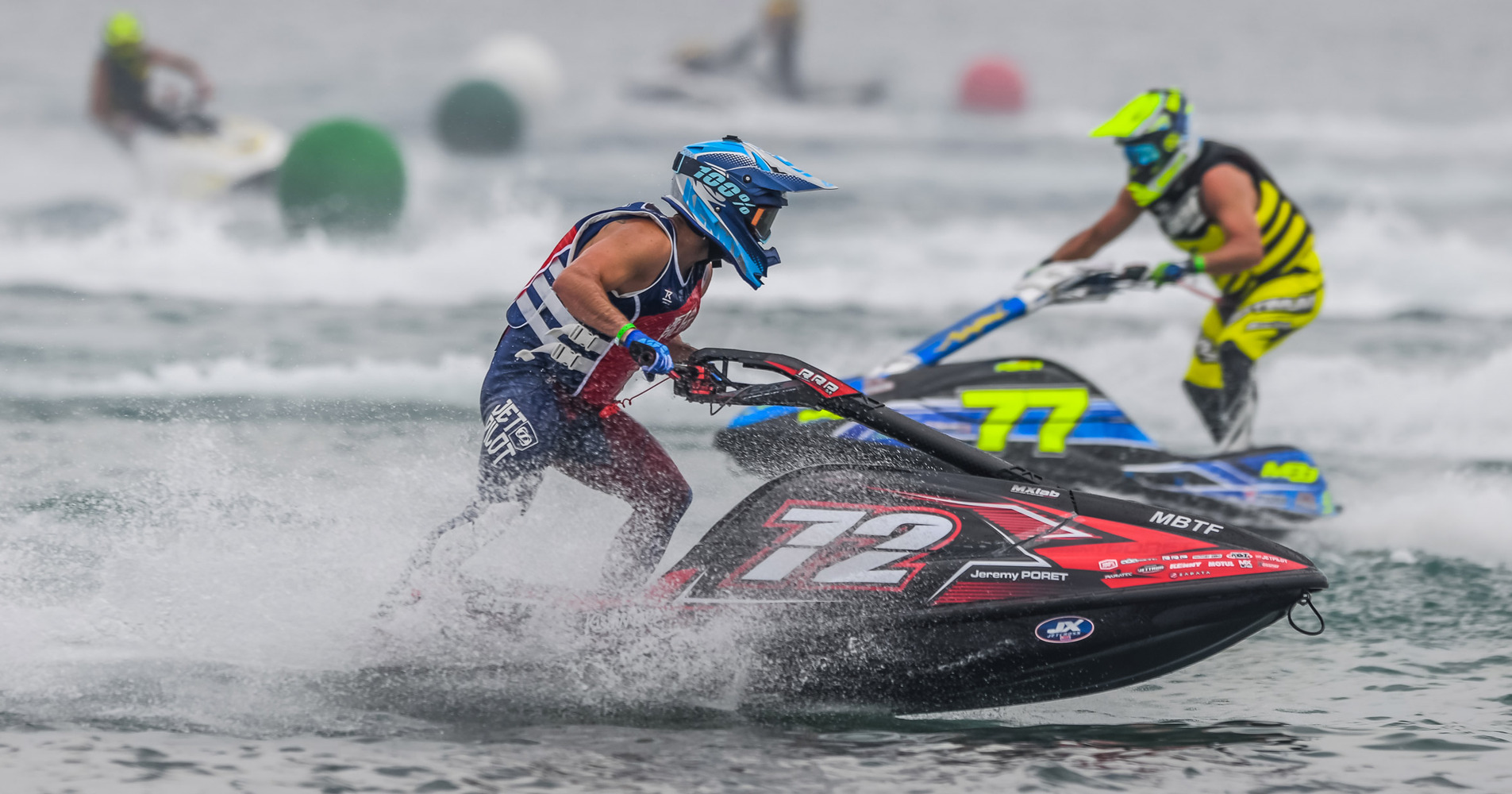 Jeremy Poret's domination with a perfect race week end at round 1 La Seyne-sur-Mer, France