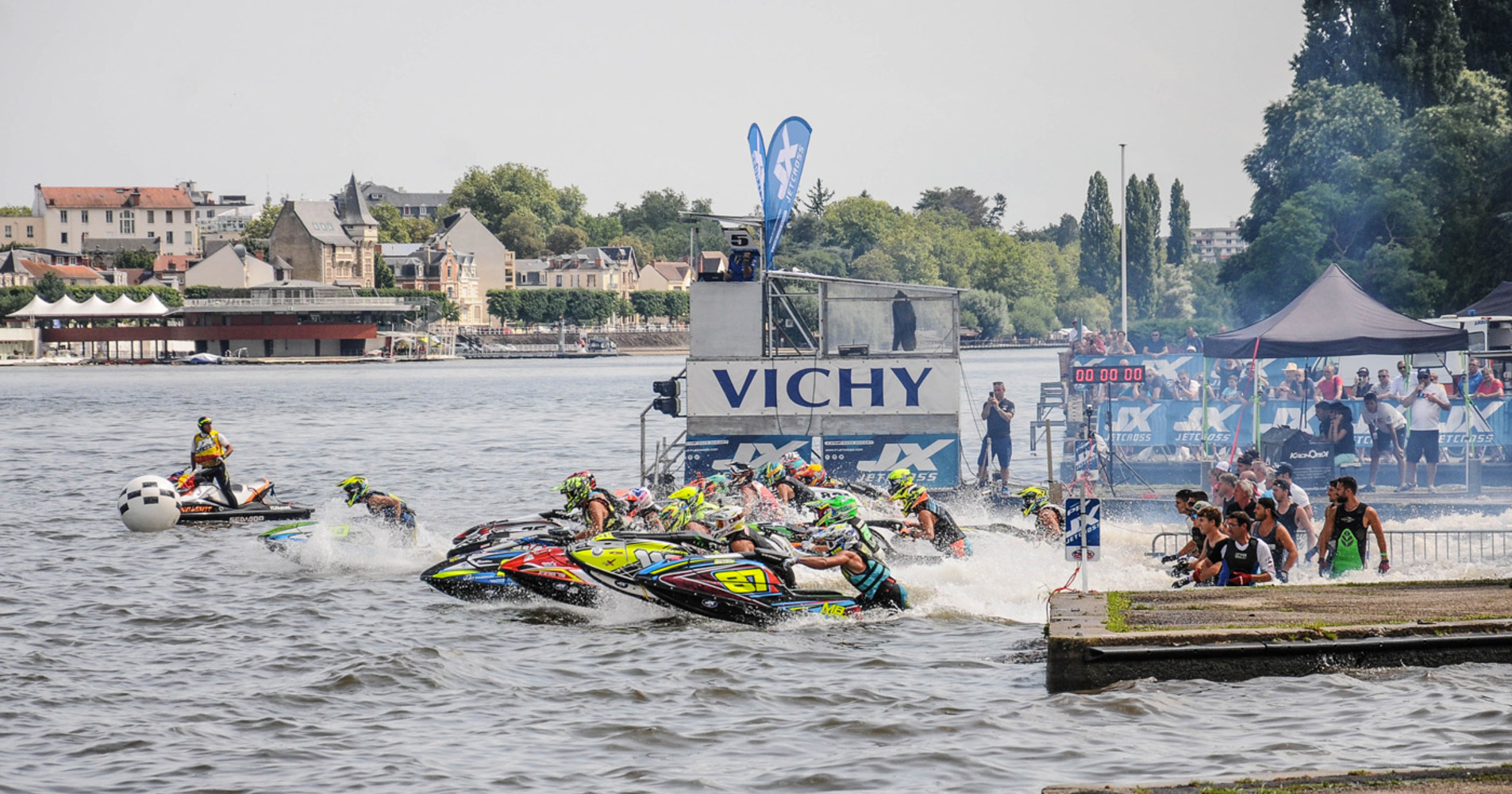 Vichy hosts the P1 Jetcross the 21-22 July