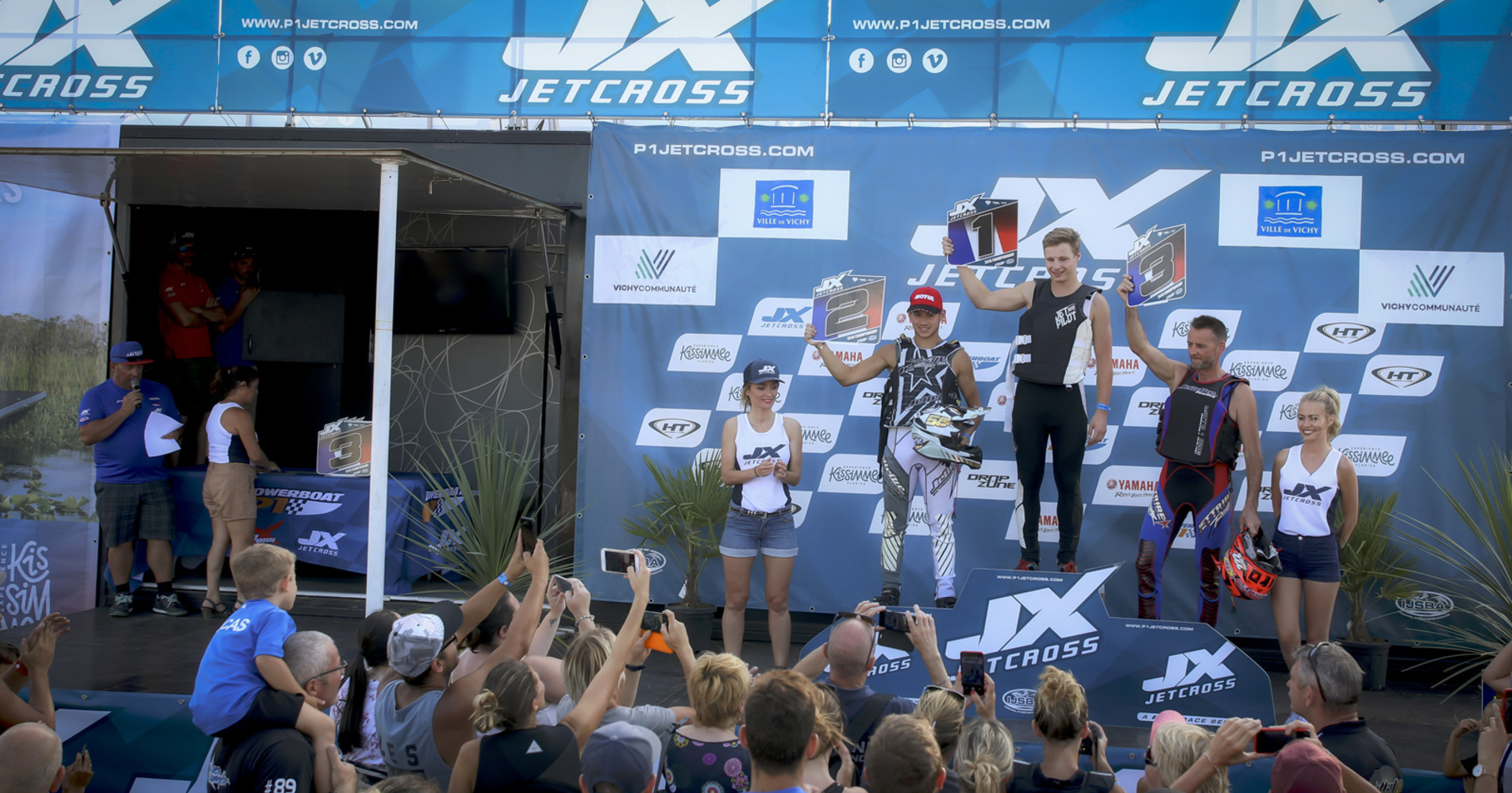 Nice podium in the Pro-Am Ski class, overall victory for Alec Enderli, 2nd place for Tanguy Mezière and 3rd place for Laurent Tourlan