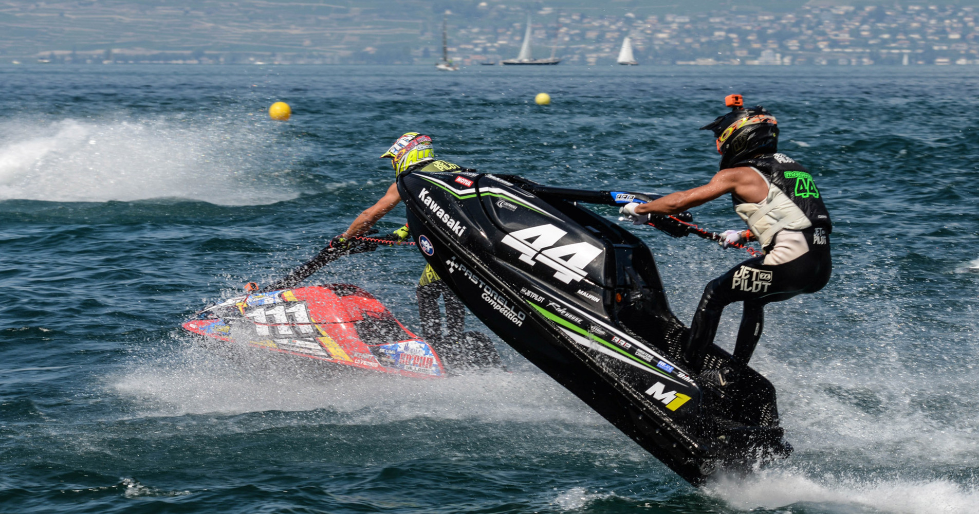 Raphael Maurin was very fast on Lake Geneva here battling with Steven Loiodice very consistent the whole weekend