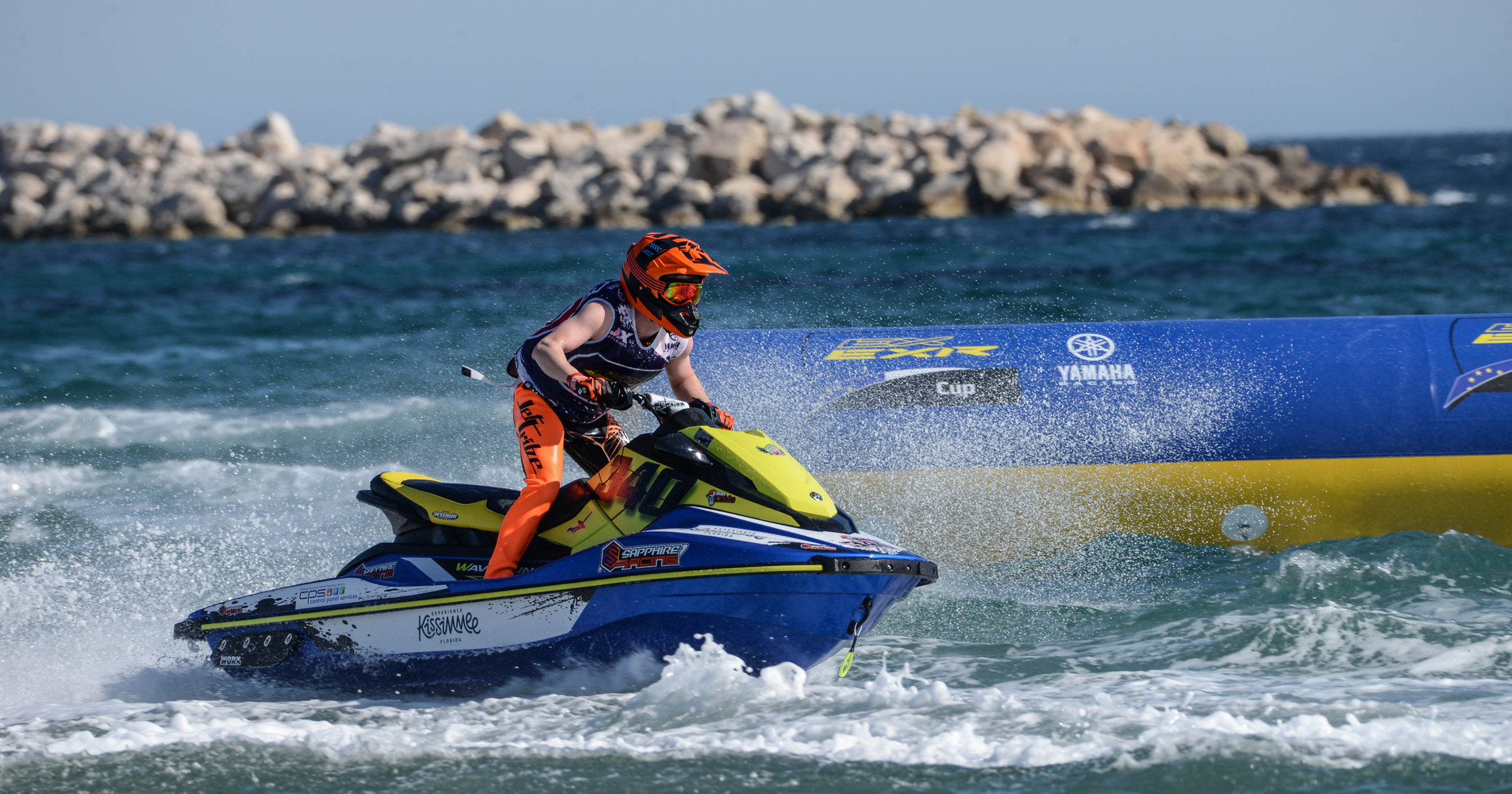Yamaha Motor Europe has chosen Powerboat P1 through the P1 Jetcross championship for promoting their EX and EXR models
