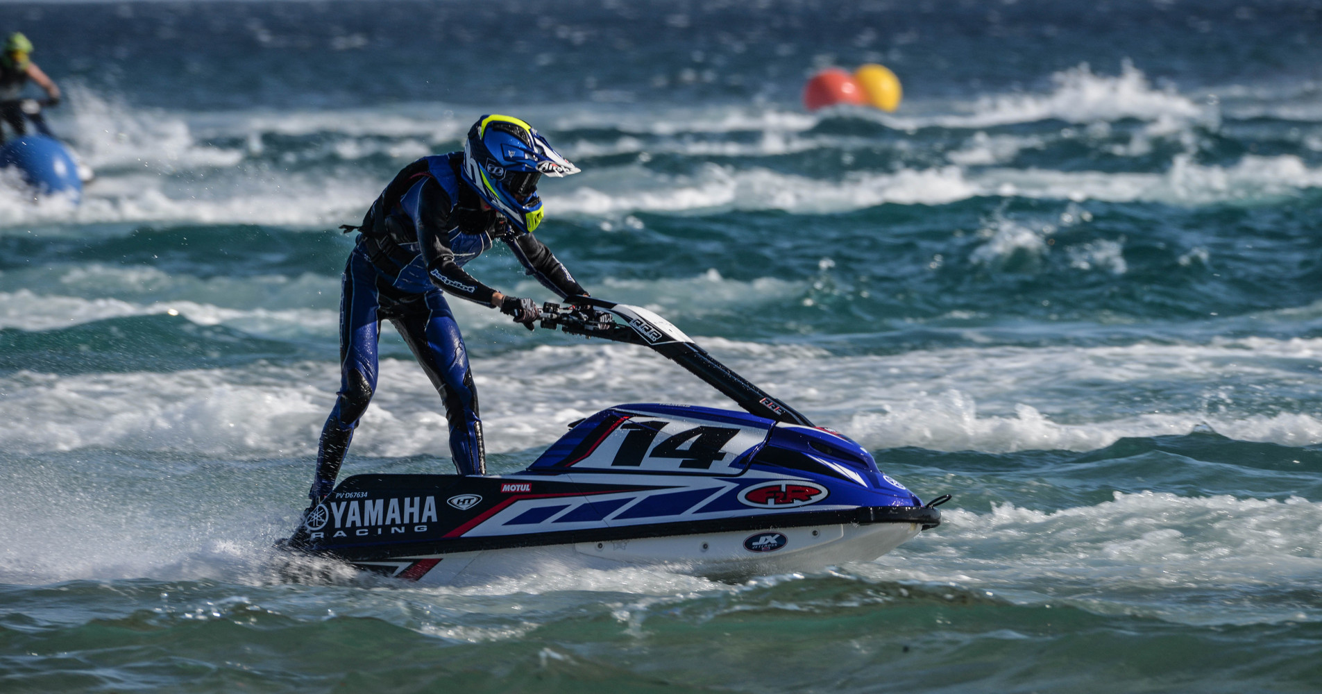 Impressive performance from newcomer Paul Thomas in the Am Ski JX3 class