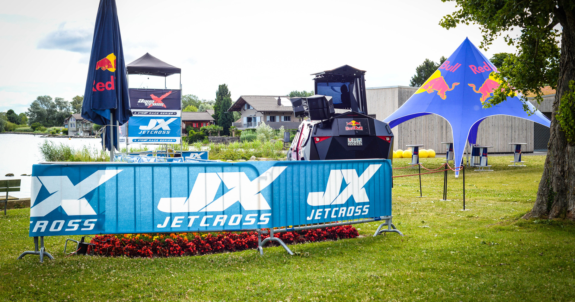 Red Bull will be the official energy drink of the Jetcross Grand Prix of Belgium