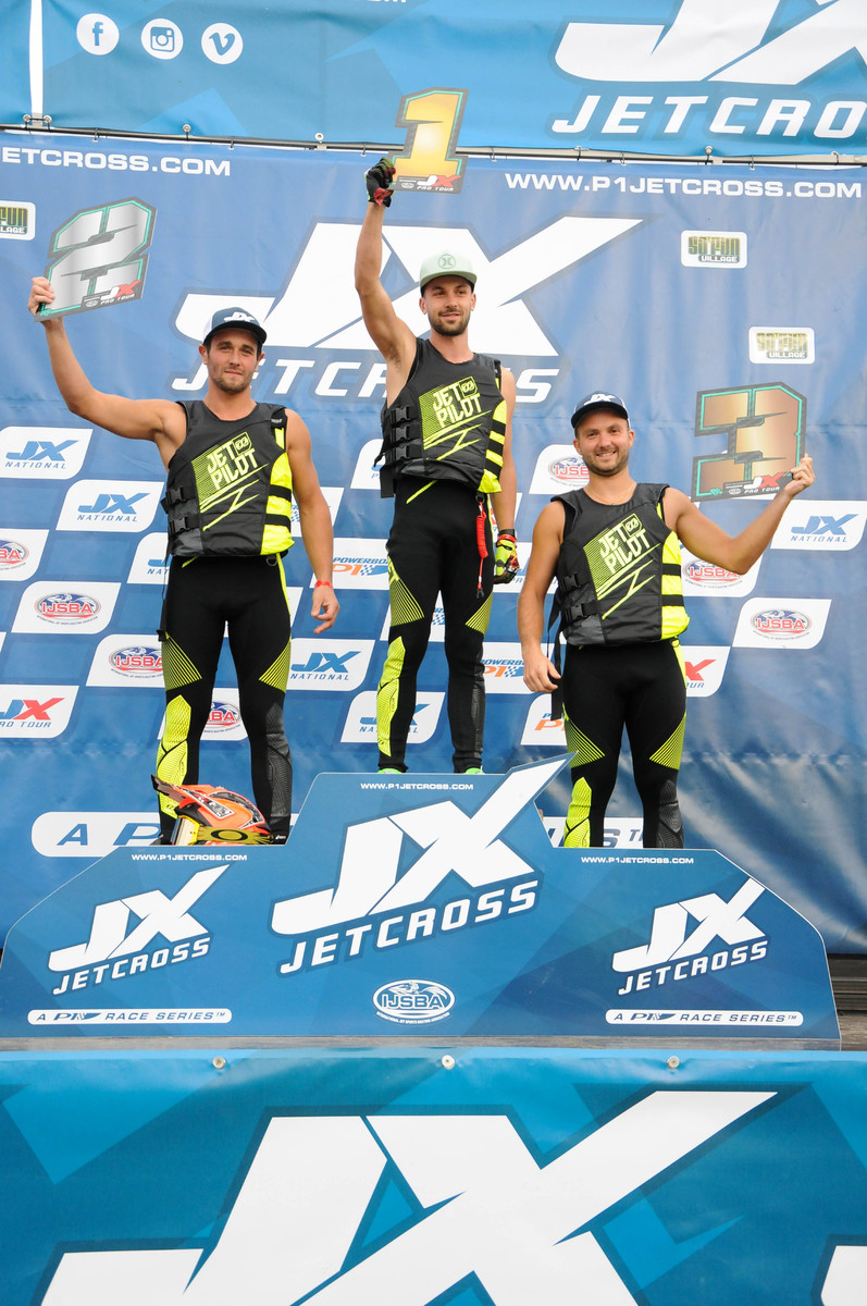 Three Frenchmen filled the top three spaces in the Jetcross Pro Tour standings