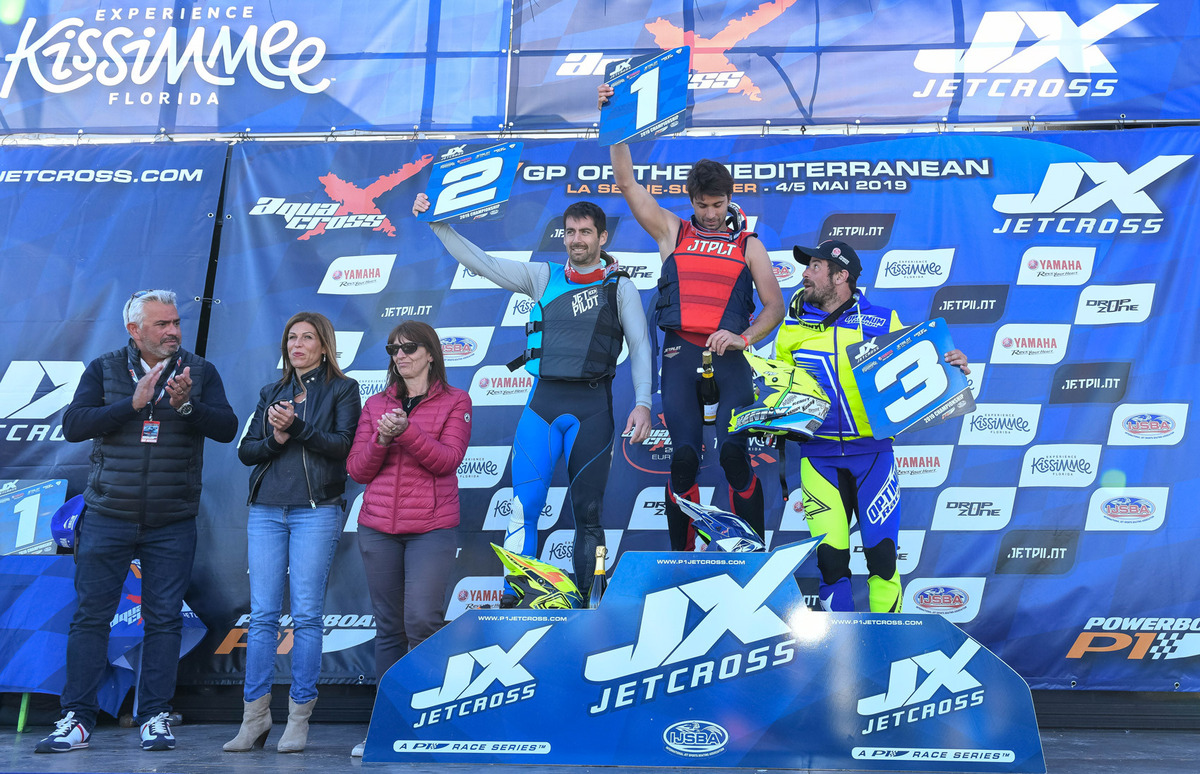 Podium Pro Ski P1 JX Grand Prix of the Mediterranean 2019