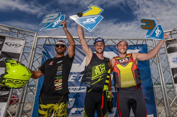 Left to Right: Brice Lopez (2nd), Valentin Dardillat (1st) and Steven Loiodice (3rd)