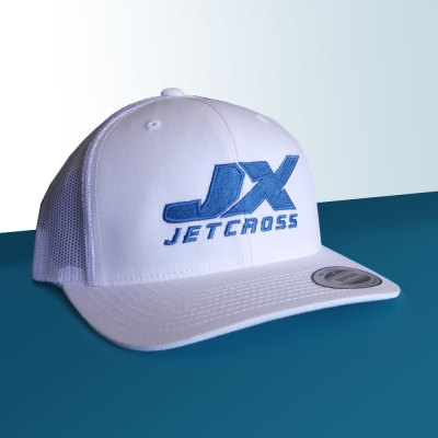 Picture of White Jetcross Trucker Cap