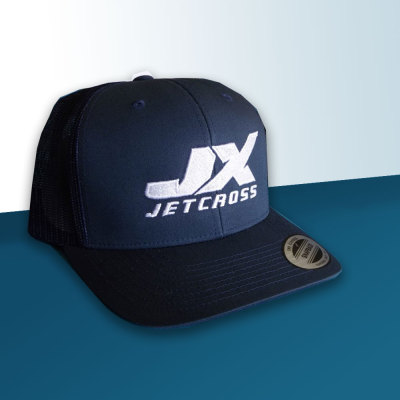 Picture of Blue Jetcross Trucker Cap