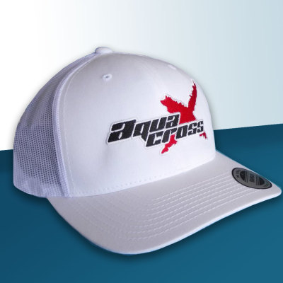 Picture of White AquaX Trucker Cap